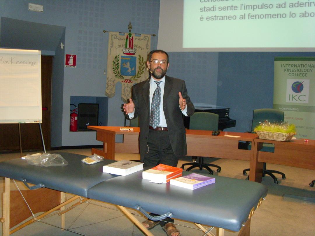 2015 - Corso di aggiornamento di kinesiologia: Pier Francesco Maria Rovere