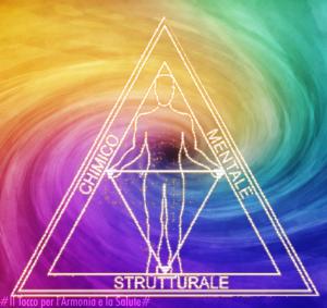 Il triangolo della kinesiologia