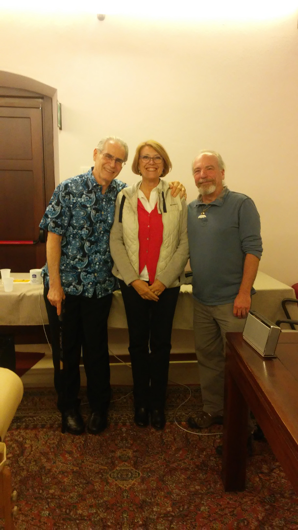 Con Charles Krebs e Adam Lehman