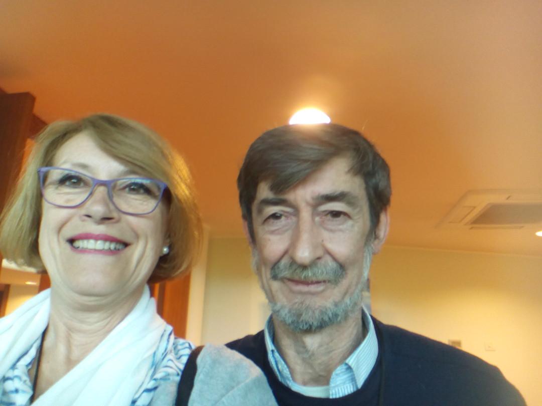 Con Roberto Lissoni